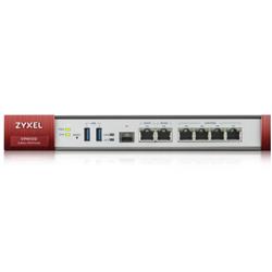 VPN100 VPN Firewall 6Gb Tx/1 Gb SFP, 2000Mb/s Firewall, 100 IPsec Tunnels