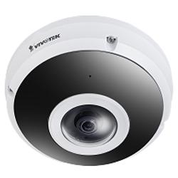 FE9382-EHV-v2 6MP Fisheye Camera with Built-In Analytics