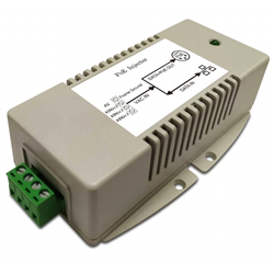 MIT-20G-A2456PNNN AC/DC PoE Injector 24VAC Input, 56VDC 70W PoE Output