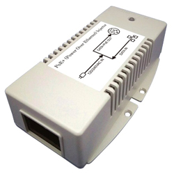 MIT-33G-56BNN 56V Gigabit PoE Injector with 56V/50W Output and Surge Protection