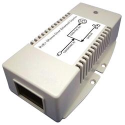 MIT-33G-56PNN 56V Gigabit PoE Injector with 56V/60W Output