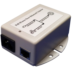 MIT-77G-18BNNN 18V Gigabit PoE Injector with 18V 1A Output and Surge Protection