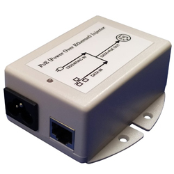 MIT-77G-48ANNN 48V Gigabit POE Injector with 48V 500mA Output, 1/2-, 3/6+