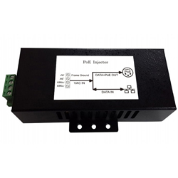 MIT-96T-A2456BDNM AC/DC Gigabit PoE Injector