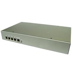 5-port Gigabit PoE Switch, 24VDC input, 4x 56V 802.3bt compliant PoE output, operation temperature -40C~+70C