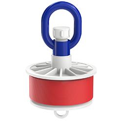 Blank Duct Plug, Loop Nut, 4.00″ | 100mm