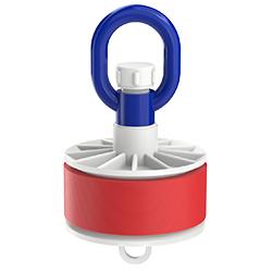 Blank Duct Plug, Loop Nut, Inside Fit, 4.00″ | 100mm
