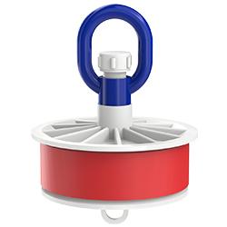 Blank Duct Plug, Loop Nut, 5.00″ | 125mm