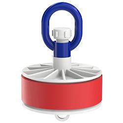 Blank Duct Plug, Loop Nut, Inside-Fit, 5.00″   125mm