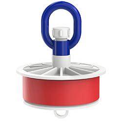 Blank Duct Plug, Loop Nut, 5.80″   148mm