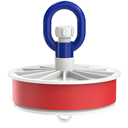 Blank Duct Plug, Loop Nut, 6.00″   150mm
