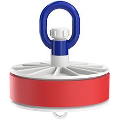 Blank Duct Plug, Loop Nut, Inside-Fit, 6.00