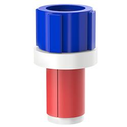 Fiber Optic Simplex Plug, Size 1.00″ | 25mm, Port 0.20″ – 0.35″ | 5.08mm – 8.89mm