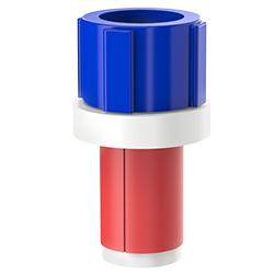 Fiber Optic Simplex Plug, Size 1.00″ | 25mm, Port 0.27″ – 0.35″ | 6.86mm – 8.89mm