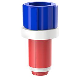 Fiber Optic Simplex Plug, Size 1.00″ | 25mm, Port 0.35″ – 0.57″ | 8.89mm – 14.48mm