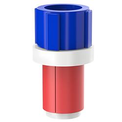 Fiber Optic Simplex Plug, Size 1.10″ | 28mm, Port 0.20″ – 0.35″ | 5.08mm – 8.89mm