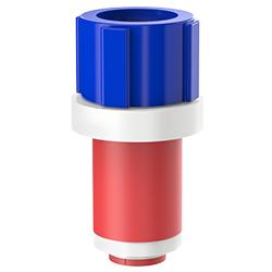 Fiber Optic Simplex Plug, Size 1.10″ | 28mm, Port 0.35″ – 0.57″ | 8.89mm – 14.48mm