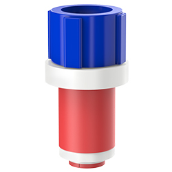 Fiber Optic Simplex Plug, Size 1.10″   28mm, Port 0.35″ – 0.57″   8.89mm – 14.48mm