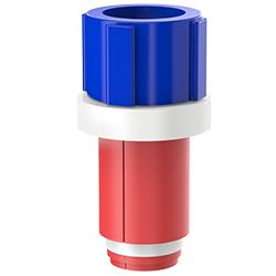 Fiber Optic Simplex Plug, Size 1.10″   28mm, Port 0.51″ – 0.71″   12.95mm – 18.03mm