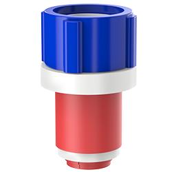 Fiber Optic Simplex Plug, Size 1.25″   32mm, Port 0.51″ – 0.71″   12.95mm – 18.03mm