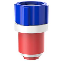 Fiber Optic Simplex Plug, Size 1.375″   35mm, Port 0.51″ – 0.71″   12.95mm – 18.03mm