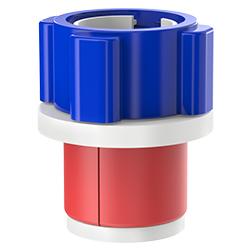 Fiber Optic Simplex Plug, Size 1.50″   40mm, Port 0.08″ – 0.35″   2.03mm – 8.89mm