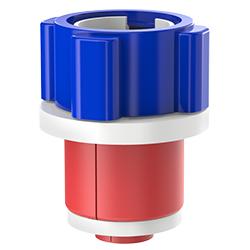 Fiber Optic Simplex Plug, Size 1.50″ | 40mm, Port 0.35″ – 0.57″ | 8.89mm – 14.48mm