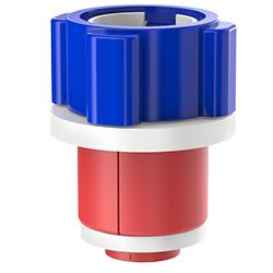 Fiber Optic Simplex Plug, Size 1.50″ | 40mm, Port 0.51″ – 0.71″ | 12.95mm – 18.03mm