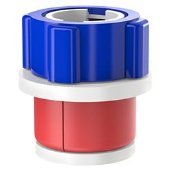 Fiber Optic Simplex Plug, Size 2.00″ | 50mm, Port 0.08″ – 0.14″ | 2.03mm – 3.56mm