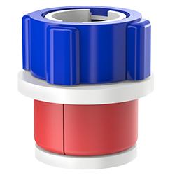 Fiber Optic Simplex Plug, Size 2.00″ | 50mm, Port 0.15″ – 0.24″ | 3.81mm – 6.10mm
