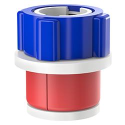 Fiber Optic Simplex Plug, Size 2.00″ | 50mm, Port 0.25″ – 0.51″ | 6.35mm – 12.95mm