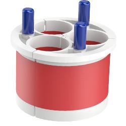 Triplex Entry Seal, 5.00″ | 125mm, Port 1.75″ | 45mm