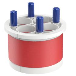 Quadplex Entry Seal, 6.00″ | 150mm, Port 1.40″ | 36mm